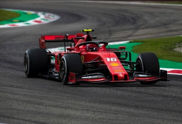 Leclerc, re di Monza all'esordio